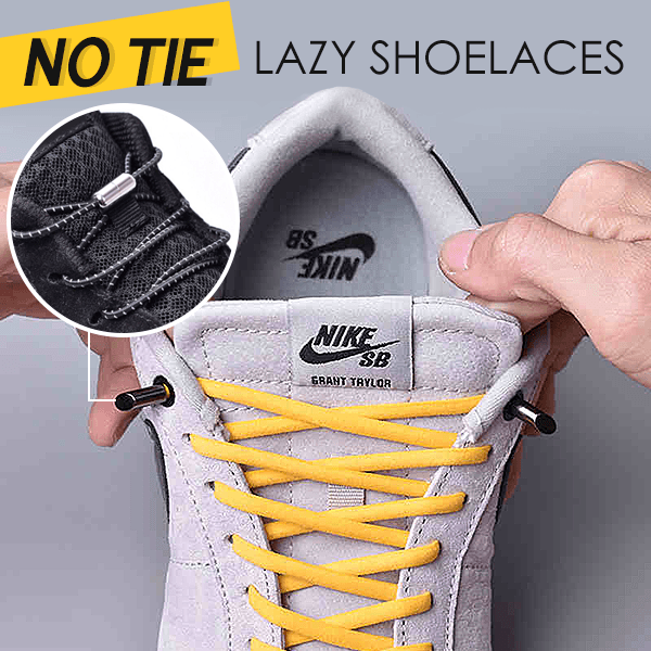 No-Tie Lazy Shoelaces