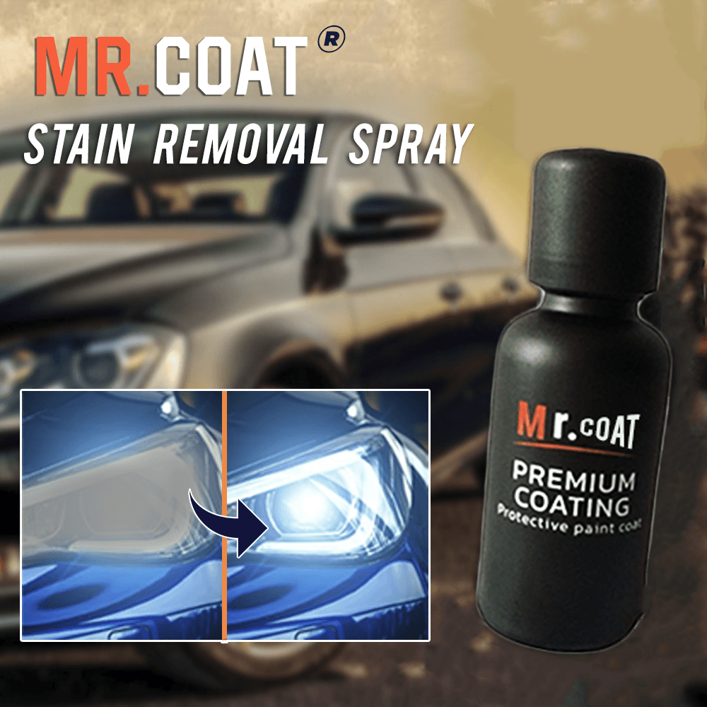 Headlight Stain Removal Spray