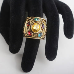 Gold Thanos Avengers 3 Infinity War Ring