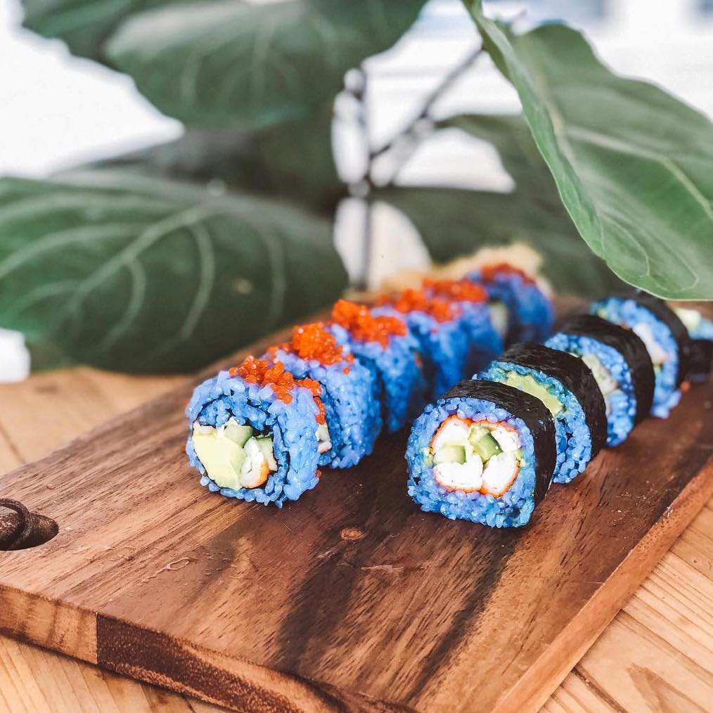 Blue Matcha California Maki