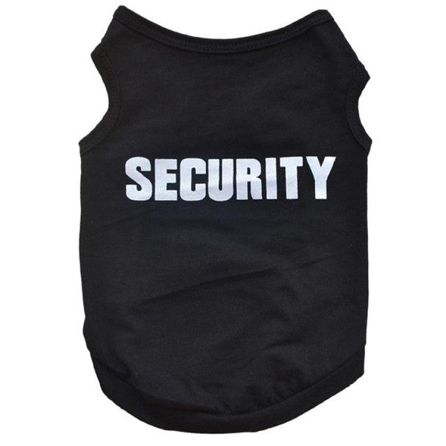 """Security"" Dog Shirt"