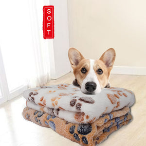 Pet Blanket Sleep Warm Double Velvet