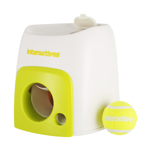 Interactive Tennis Ball Launcher N Treat