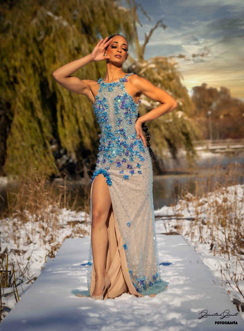 Image of Crystal Butterfly Dress