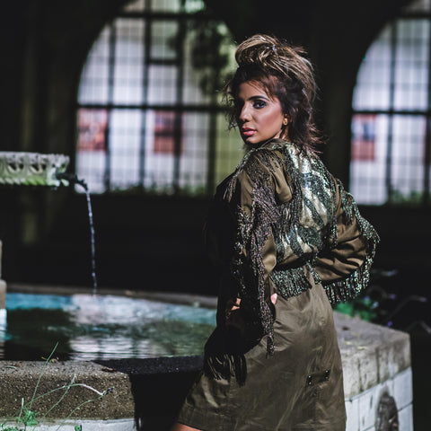 Image of Glam Gamble Utilitarian Safari Jacket