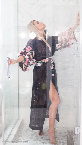 Image of Ebb and Rise Sheer Kimono