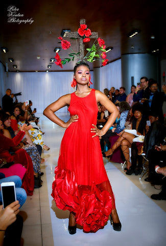 Image of Cardinal Kiss Red Gown