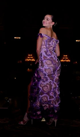 "Rental ""Akebia Flowers Dress"""