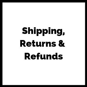 SCB Shipping, Returns and Refunds