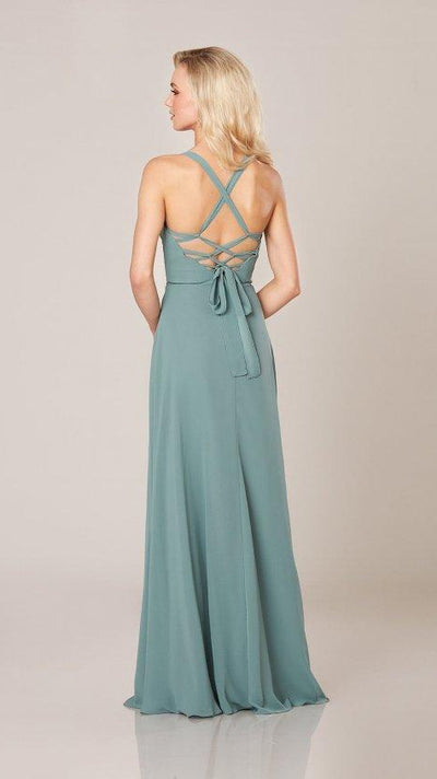 Classic Bridesmaid with Lace-Up Back 9314