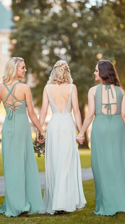 Bridesmaid Dress with Double Bow Feature 9310