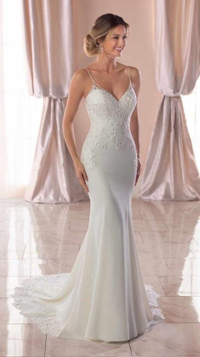 Stella York Sexy Beach Wedding Gown
