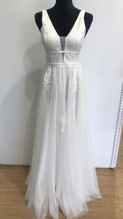 Young and Fun Wedding Dress 218303
