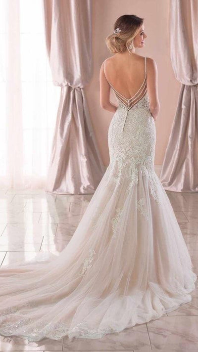 Stella York Mermaid Wedding Dress 6793