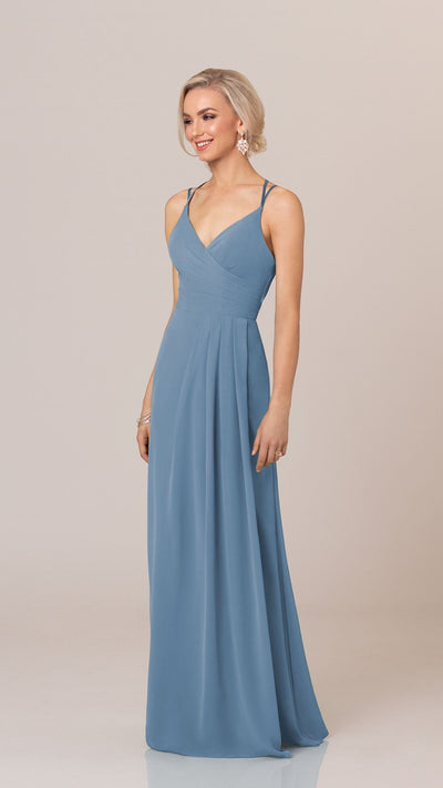 Flirty Bridesmaid Dress With Modern Back Detail - Sorella Vita 9258