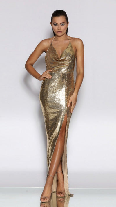 Jadore Sequin Evening Gown JX2021