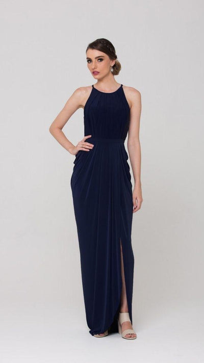 Sandra - Tania Olsen Halter Neck Bridesmaid Dress