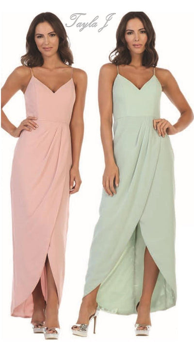 Tulip Style Bridesmaid Gown T2915