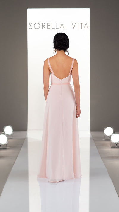 Sexy Sorella Vita Bridesmaid Dress with Multiway Ruching 9230