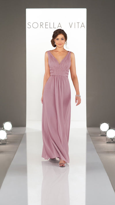 Grecian Style Sorella Vita Bridesmaid Dress 9260