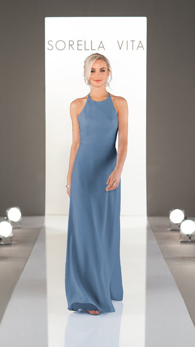 Clean and Modern Sorella Vita Bridesmaid Dress 9234