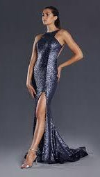 Jadore Sequin Evening Gown JX008