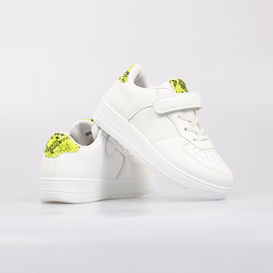GiGi Sky Force Trainers Lime - Little Attitude