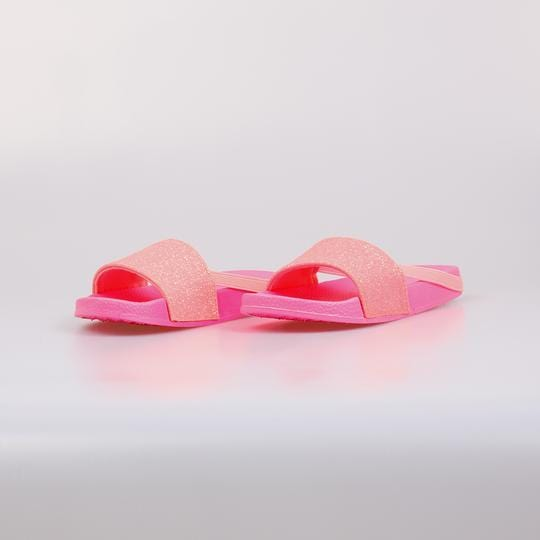 True Glitter Neon Sliders Pink - Little Attitude