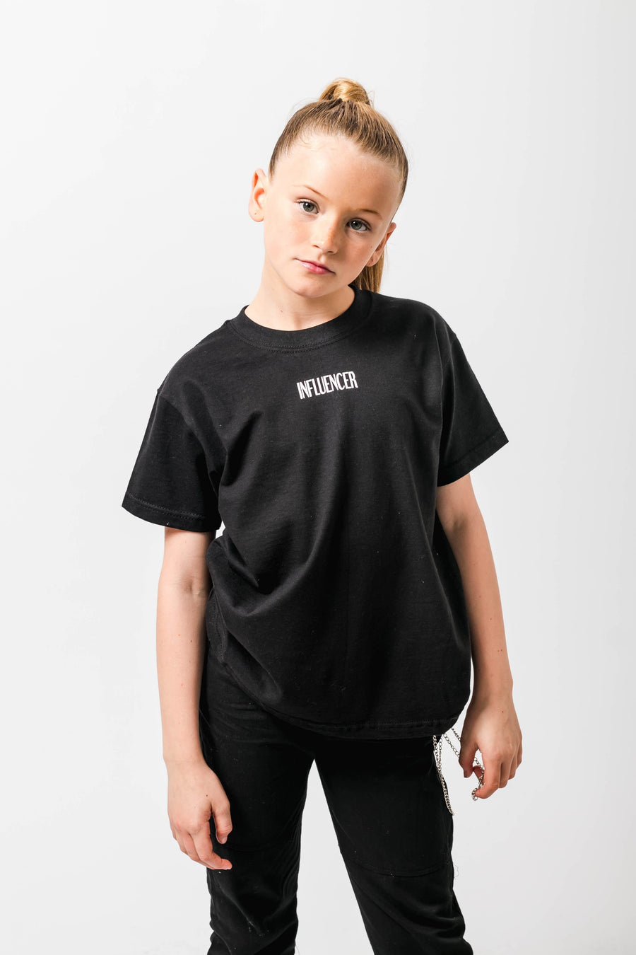 Influencer Loose fit Tshirt Black Little Attitude