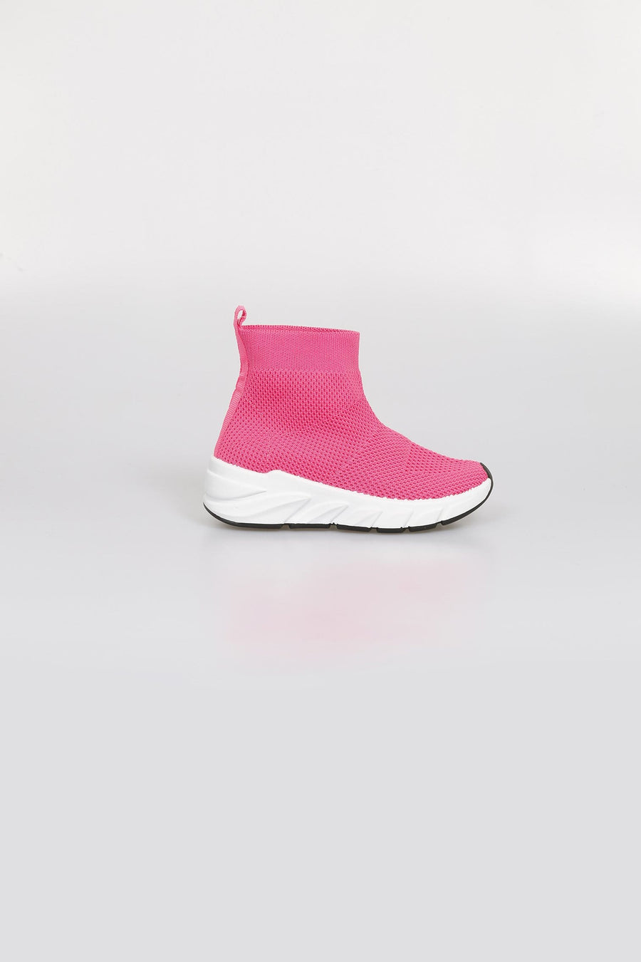 Nava Air Flow Chunky Sole Mesh Sock Trainers Fuchsia From Little Attitude