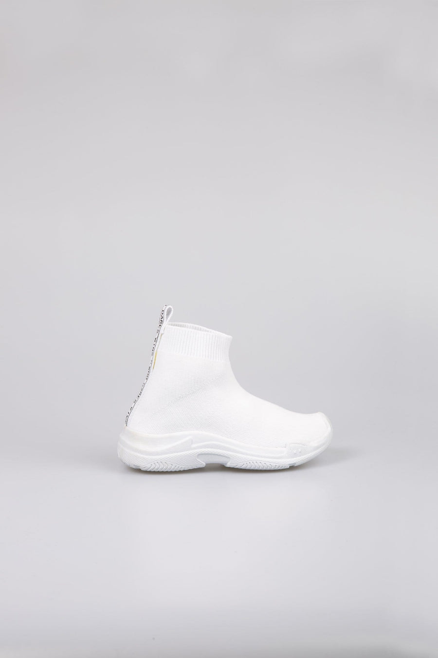 Avi Sock Trainers White SS20 Little Attitude Spring Summer 20