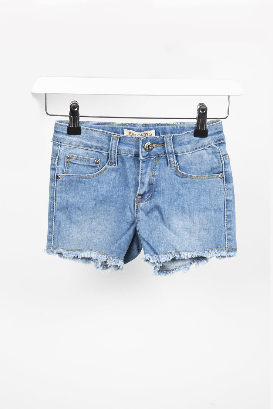 Rubie Denim Distressed Shorts Blue From Little Attitude