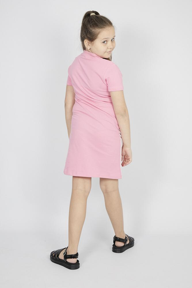 Dina Zip Sport Mini/Midi Dress in Pink