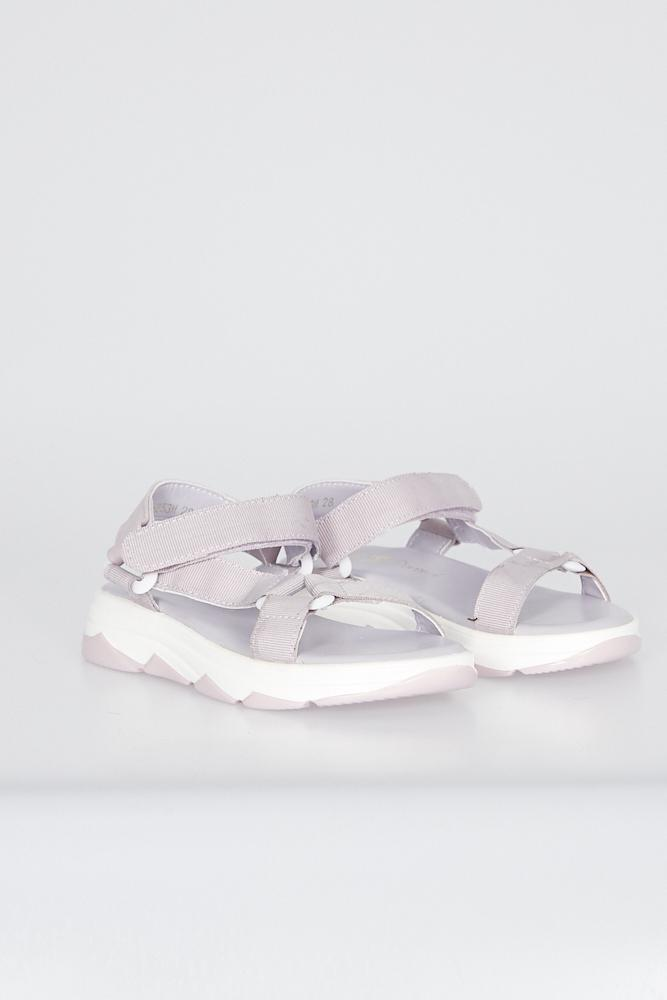 Nina Sport Look Sandals With Chunky Sole Lilac