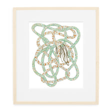 pattie lee becker art print ropes