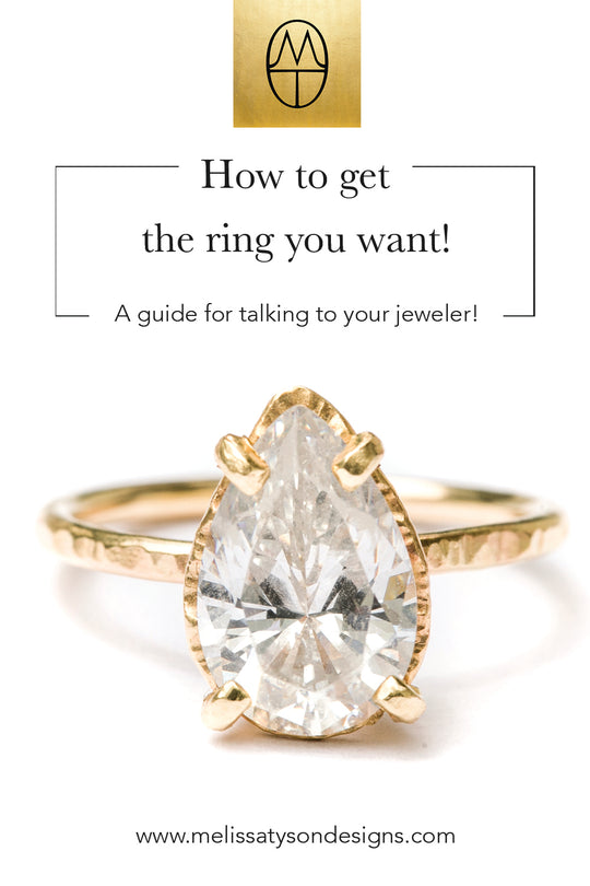 How to get THE RING from your favorite jewelry designer?