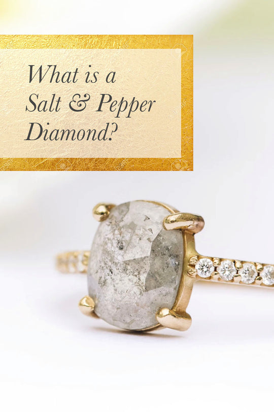 What are Salt and Pepper Diamonds?