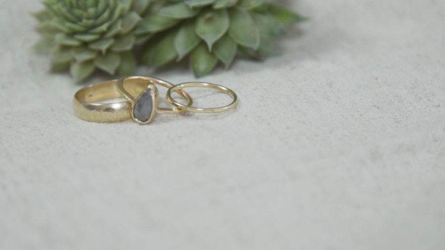 Bright Light | Wedding Band Set