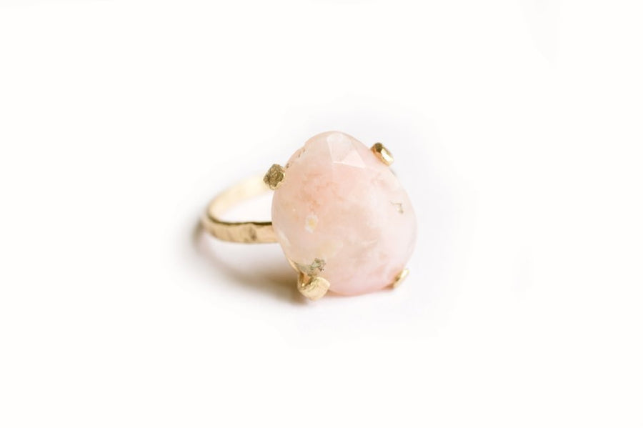 Pink Opal | Gemstone Ring - Melissa Tyson Designs