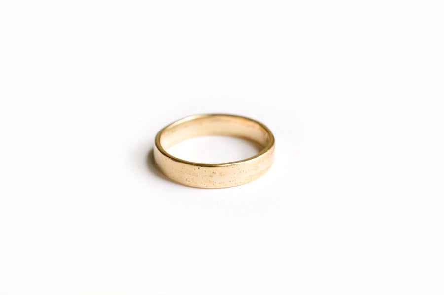 Lightly Textured Men's Wedding Band