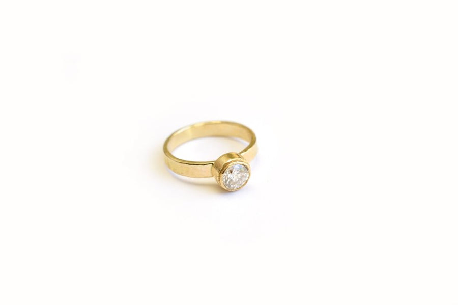 Shooting Star | Diamond Engagement Ring - Melissa Tyson Designs