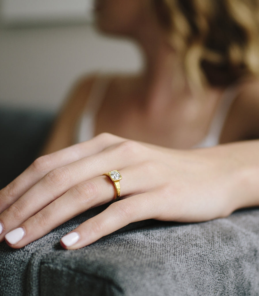 Stefani | Diamond Engagement Ring - Melissa Tyson Designs