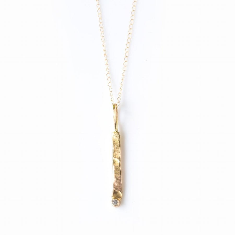 Stick and Stone | Diamond Necklace - Melissa Tyson Designs