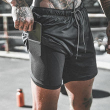 Load image into Gallery viewer, BUY 2 FREE SHIPPING-2019 Men's 2 in 1 New Summer Secure Pocket Shorts