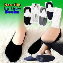 Load image into Gallery viewer, Anti-slip Silicone No Show Socks