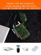 Load image into Gallery viewer, ABS USB charging silent lighter Waterproof & windproof outdoor
