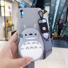 Load image into Gallery viewer, iPhone and SAMSUNG cartoon storage phone case
