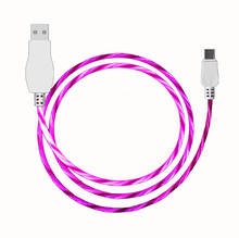 Load image into Gallery viewer, Cool night glow Android /iPhone/Type-c USB Charger Cable