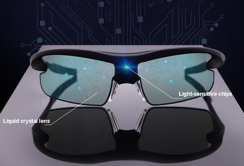 (limited time sales)The world's unique 0.3 second automatically switches color-changing sunglasses