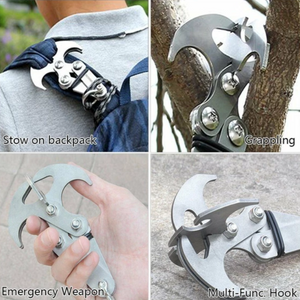 Stainless Steel Survival Folding Gravity Hook